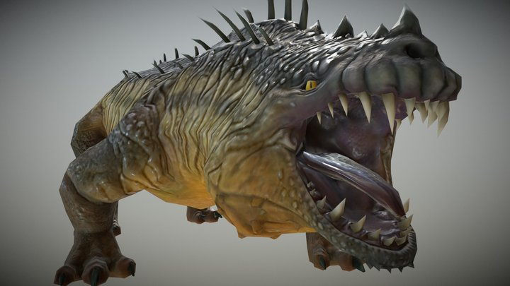 River Drake 3D Model