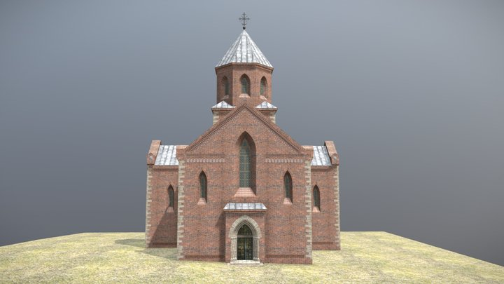 Church In Chelm 3D Model