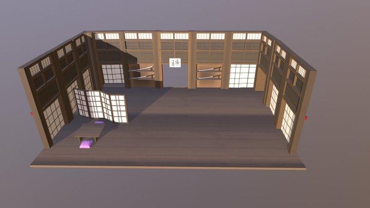 Dojo 3D Model