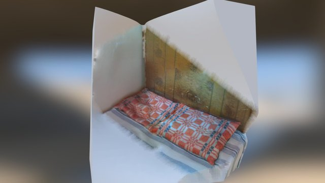 Фрагмент от леглото на Елин Пелин 3D Model
