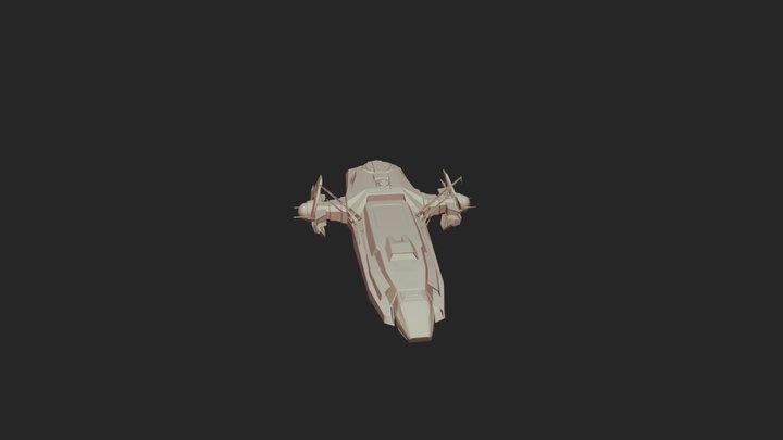 New Citicon Carrack Rework 3D Model