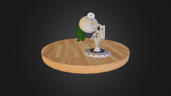 Run Rex Run! 3D Model