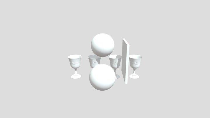 Test Scene - duplicated version 3D Model