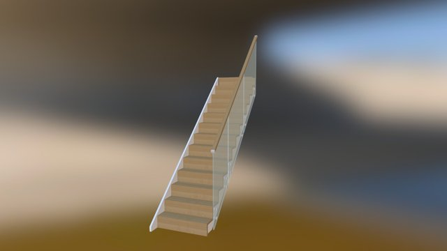 ClearCut Side Fixed glass 3D Model