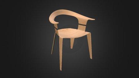 Chair 2. 3D Model