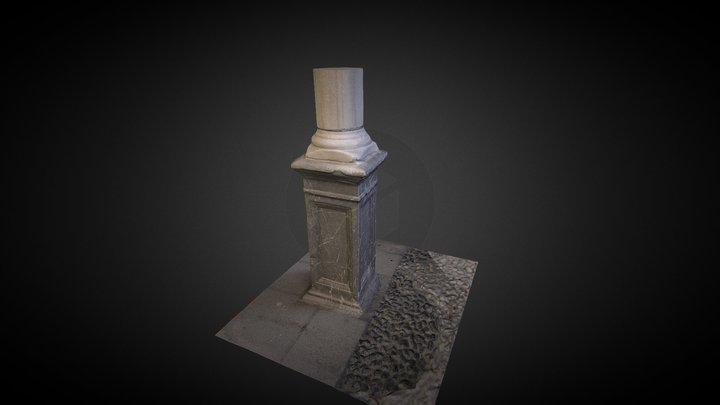 Pedestal_Columna_ETSAG 3D Model