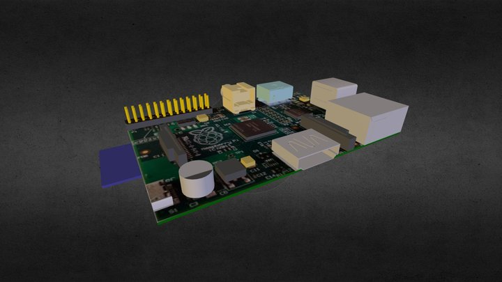 Basic Pi 3D Model