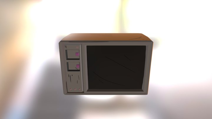 TV - Cel Shading (Project Neon) 3D Model