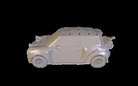 Véhicule entiers 3D Model