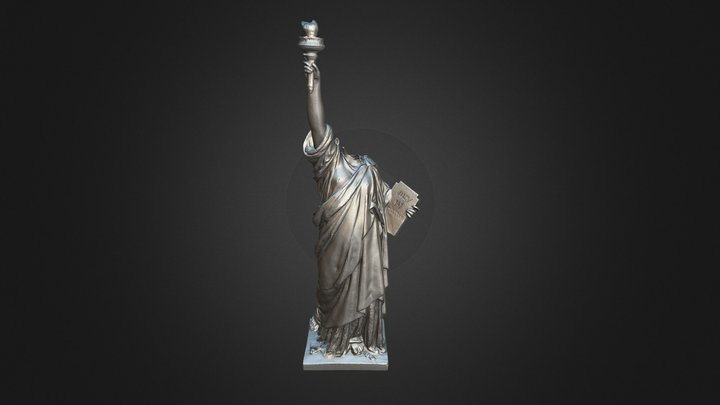 Statue of Liberty from Cloverfield 3D Model