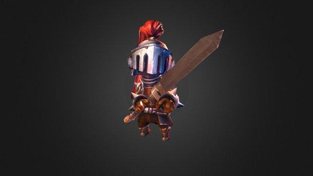 SD knight 3D Model