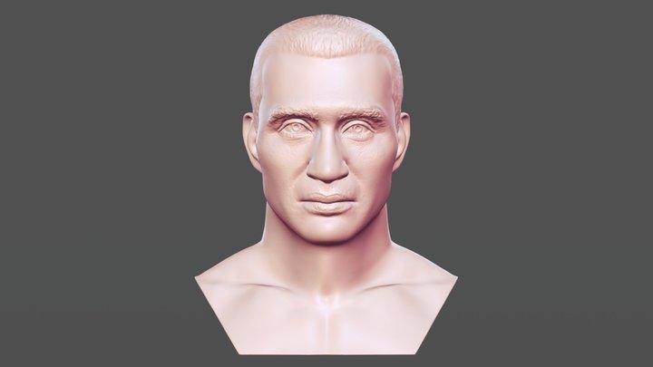 Wladimir Klitschko bust for 3D printing 3D Model
