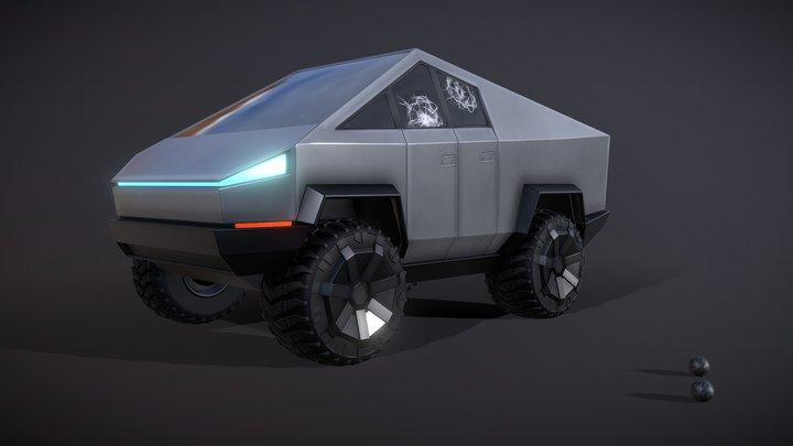 Cybertruck - Fun Size 3D Model