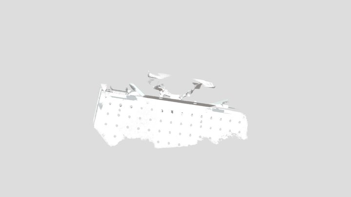 ABB IRBP 500R Full Side View Low Rez 5mb 3D Model