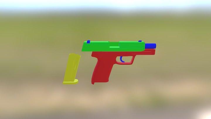 UPS 45 (WIP) 2 3D Model