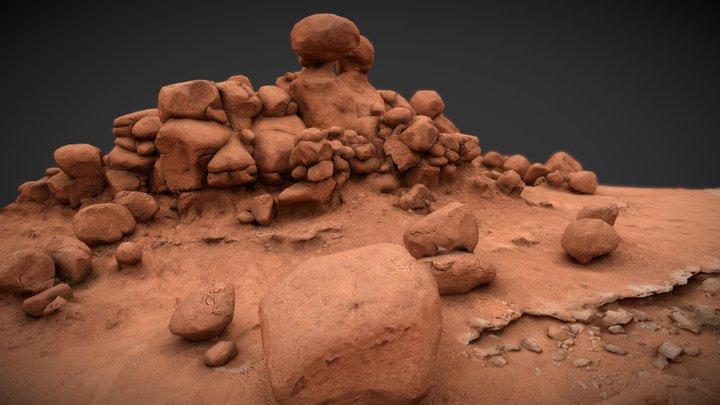 Goblin Hoodoos 3D Model