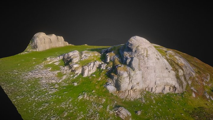 Haytor Rocks 3D Reconsrtuction 3D Model