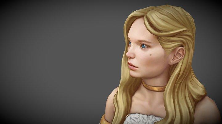 Adrianne 3D Model