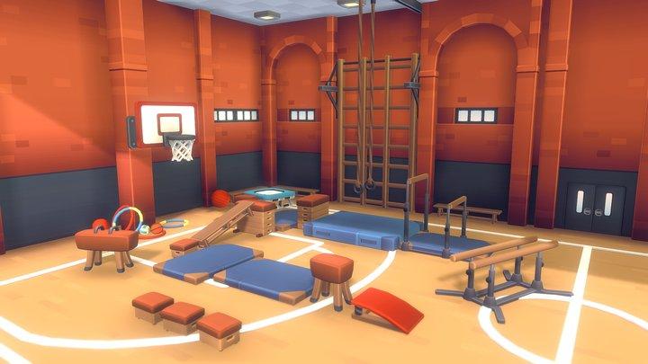 Gym Set - Proto Series 3D Model