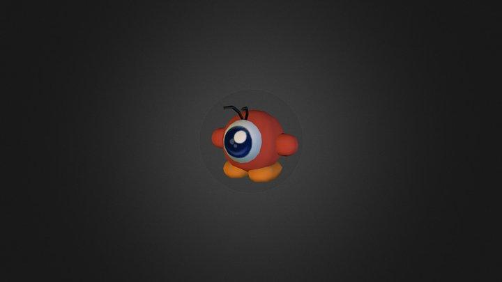 Wii - Kirbys Return to Dream Land - Waddle Doo 3D Model