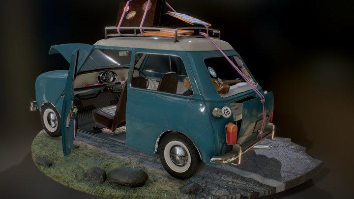 Morris Cooper S / Austin Mini / MK1 3D Model