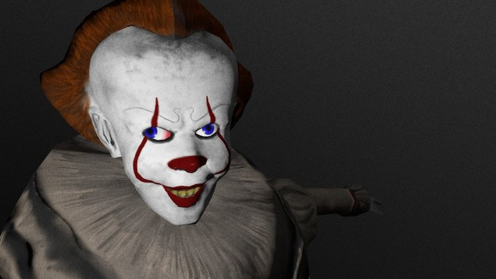 Pennywise The Dancing Clown 3D Model
