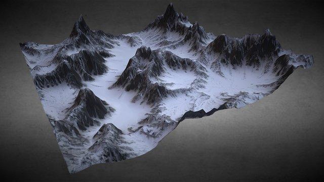The Hills 3D Model