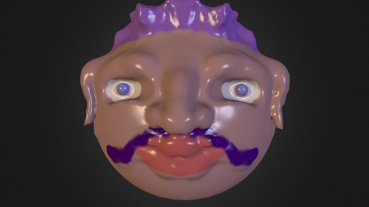 Peazant_Head 3D Model