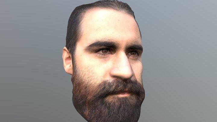 Regis head scan 3d 3D Model