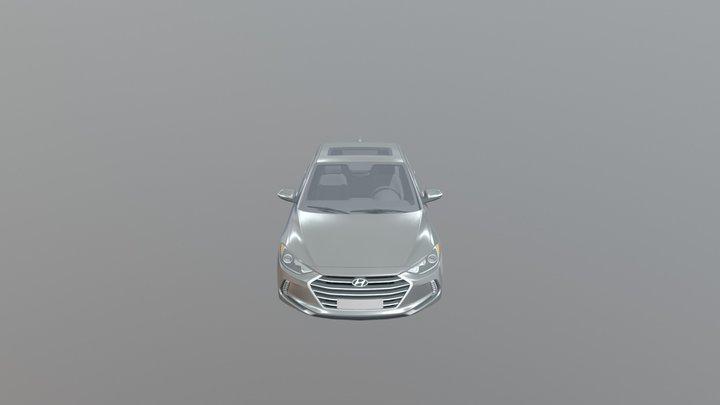 car gray 3D Model