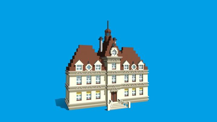 Moulinsart 3D Model