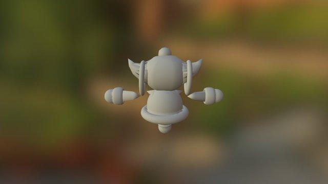 Hoopa (FAN ART) 3D Model
