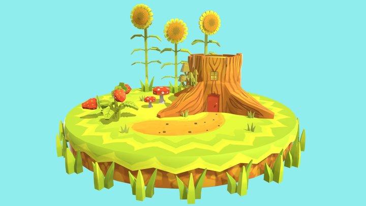 Folder Assignment: Final Environment 3D Model
