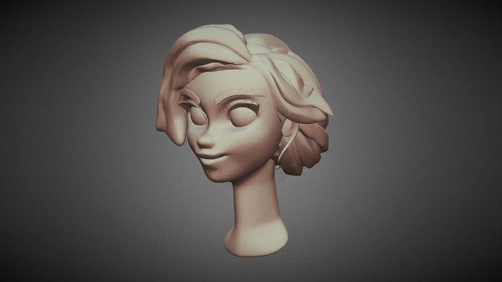 Alice Head 3D Model