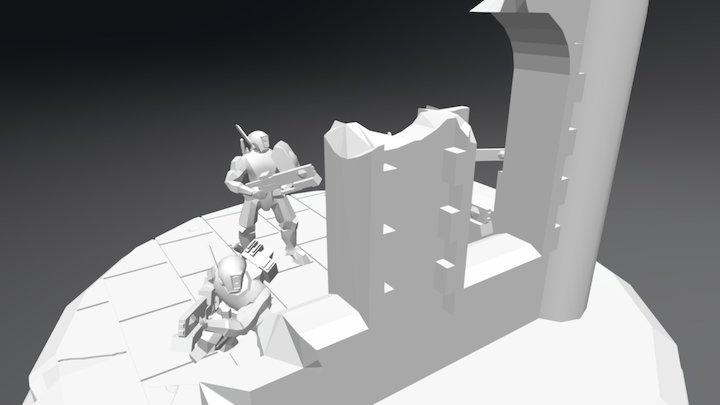 Tau In Ruins- test 3D Model