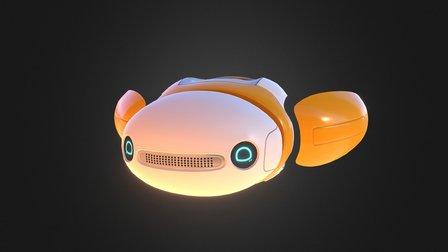Cosmic Trip - Friend Bot 3D Model