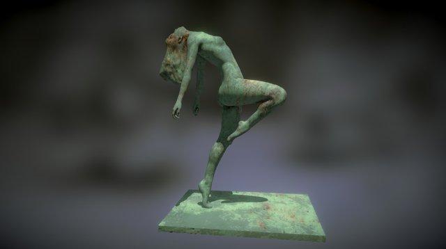 POSED DANCER B 3D Model