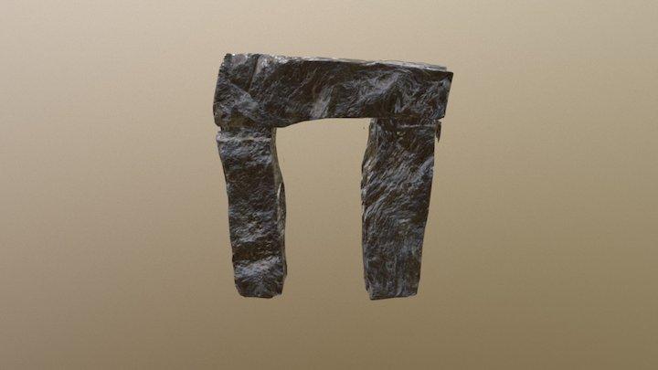 SM Rock Gate Un Wrap All 3D Model