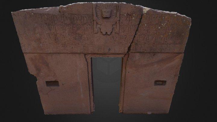 Portada del Sol 3D Model