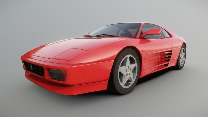 Ferrari 348TB 3D Model