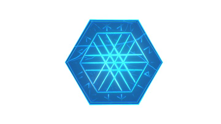 Hex Tile (Low Poly) 3D Model