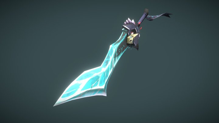 WoW Styled Weapon | Shawn Kevin Perlado 3D Model