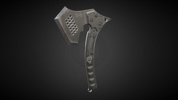 tactical axe 3D Model