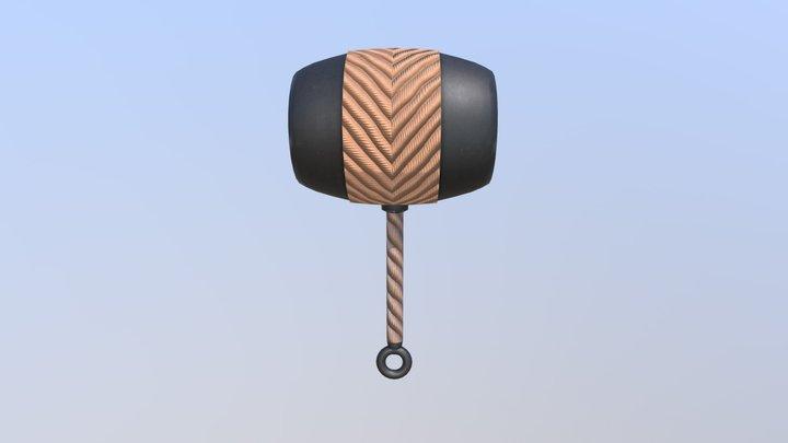 Kabutowari Hammer - Naruto 3D Model