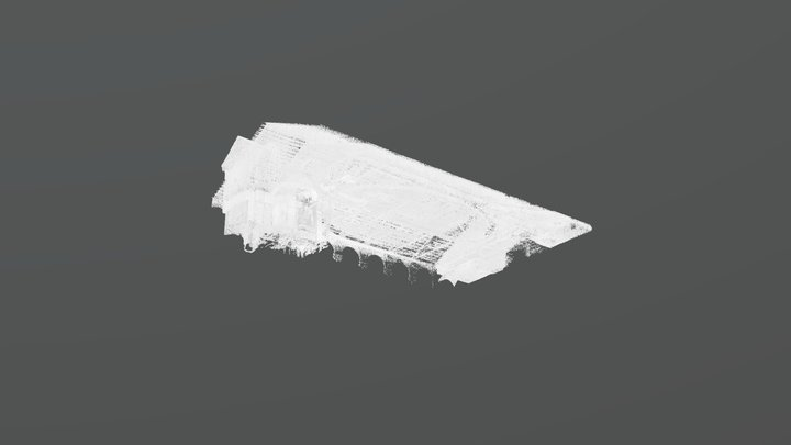 Roof Void & Nave 3D Model