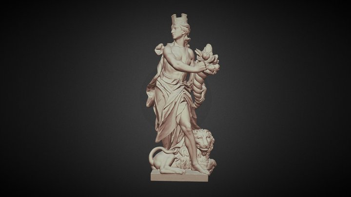 "VIER ELEMENTE ""Erde"" 3D Model"