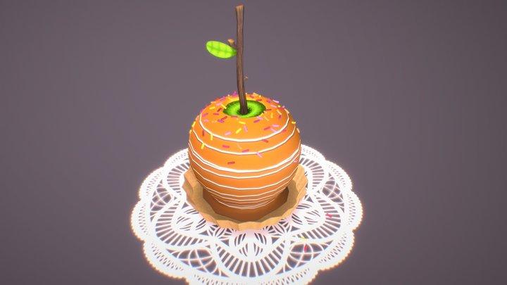 Caramel Apple 3D Model