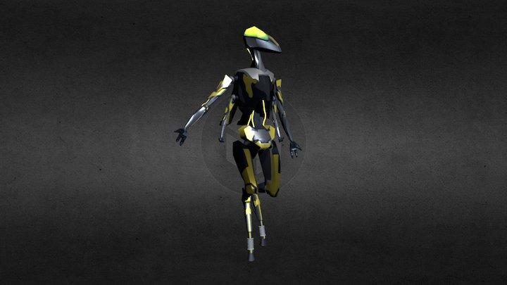 B_Rob 044 3D Model