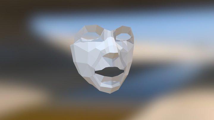 Маска 3D Model