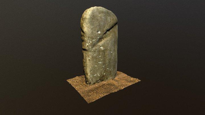 Statue-menhir dite Saint-Maurice d'Orient 3D Model